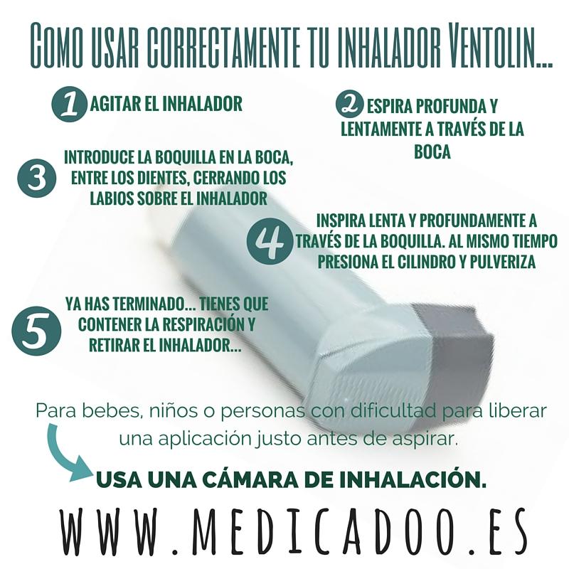 Ventolin Inhalador Como Usar